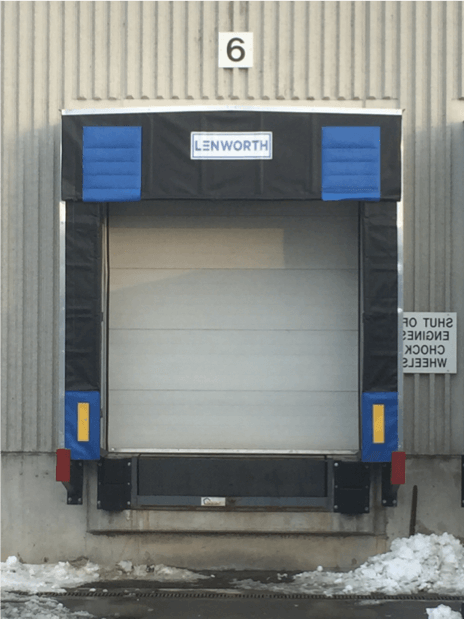 Truck Dock Shelters : Poor loading dock seals you could be losing thousands