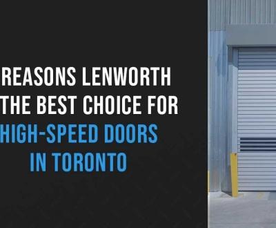 high speed doors in toronto