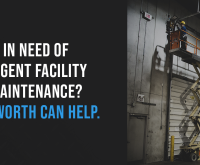 urgent and essential facility maintenance
