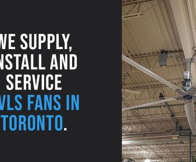 HVLS Fans in Toronto