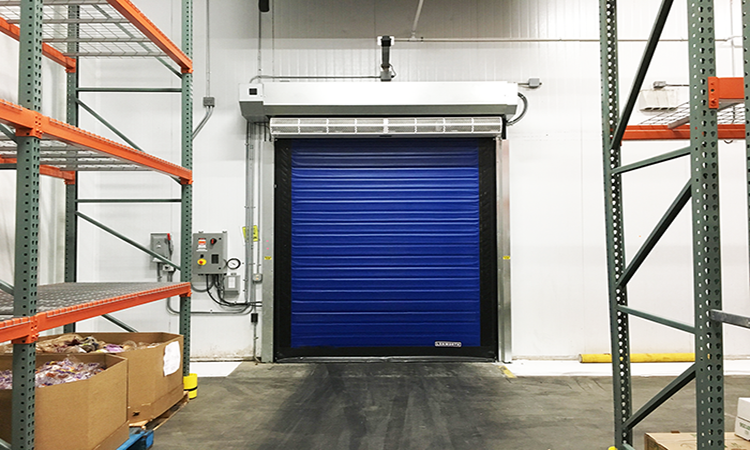 high-speed doors for freezer and cold storage